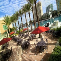 Private yacht charter at the Tampa Marriott Waterside