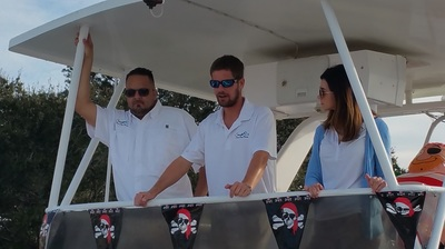 Crewed yacht charters for Gasparilla